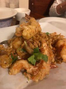 Lotus of Siam Garlic Shrimp
