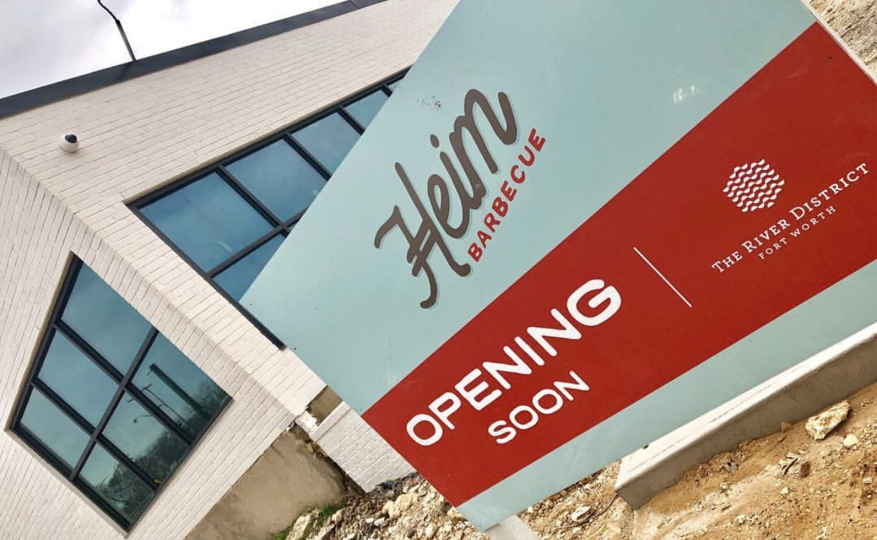 Heim BBQ New location set to open in 1 month!